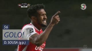 GOLO! SC Braga, Dyego Sousa aos 56', SC Braga 2-0 Portimonense
