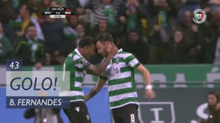 GOLO! Sporting CP, Bruno Fernandes aos 43', Sporting CP 1-2 SL Benfica