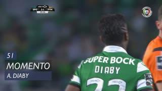 Sporting CP, Jogada, A. Diaby aos 51'