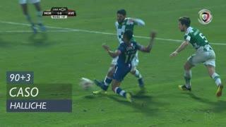Moreirense FC, Caso, Halliche aos 90'+3'