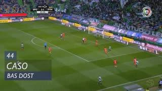 Sporting CP, Caso, Bas Dost aos 44'