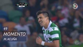 Sporting CP, Jogada, M. Acuña aos 49'