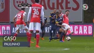 SC Braga, Caso, Paulinho aos 21'