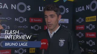 Liga (21ª): Flash Interview Bruno Lage