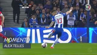 FC Porto, Jogada, Alex Telles aos 1'