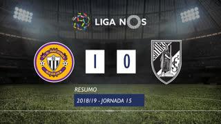 Liga NOS (15ªJ): Resumo CD Nacional 1-0 Vitória SC