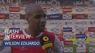 Liga (27ª): Flash Interview Wilson Eduardo