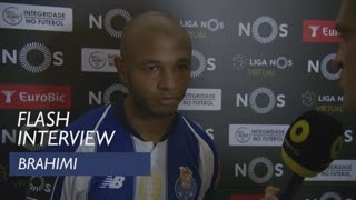 Liga (1ª): Flash interview Brahimi