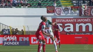Vitória FC, Caso, Jhonder aos 26'