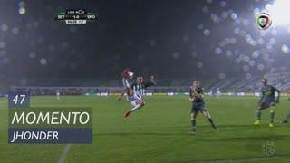 Vitória FC, Jogada, Jhonder aos 45'+2'