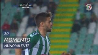 Vitória FC, Jogada, Nuno Valente aos 20'