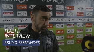 Liga (21ª): Flash Interview Bruno Fernandes
