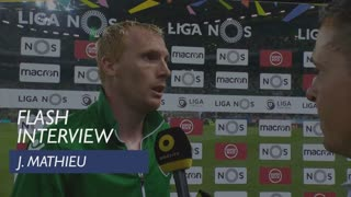 Liga (33ª): Flash Interview J. Mathieu