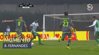 Sporting CP, Jogada, Bruno Fernandes aos 21'