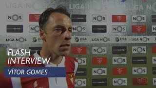 Liga (15ª): Flash interview Vítor Gomes