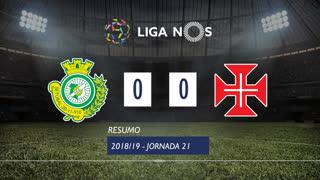 Liga NOS (21ªJ): Resumo Vitória FC 0-0 Belenenses
