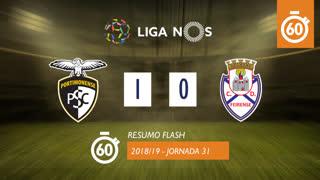 I Liga (31ªJ): Resumo Flash Portimonense 1-0 CD Feirense