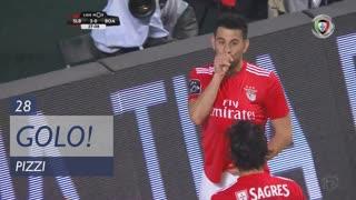 GOLO! SL Benfica, Pizzi aos 28', SL Benfica 2-0 Boavista FC