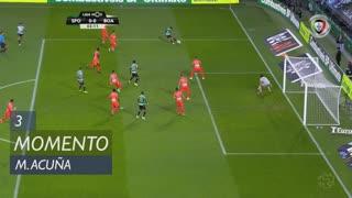 Sporting CP, Jogada, M. Acuña aos 3'