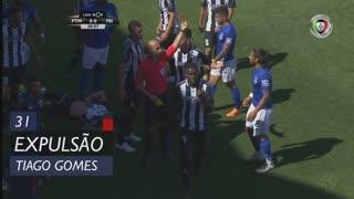 CD Feirense, Expulsão, Tiago Gomes aos 31'