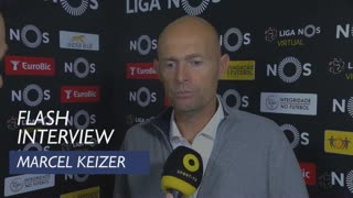 Liga (26ª): Flash Interview Marcel Keizer