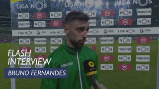Liga (26ª): Flash Interview Bruno Fernandes