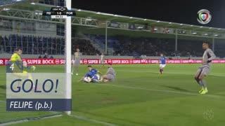 GOLO! CD Feirense, Felipe (p.b.) aos 4', CD Feirense 1-0 FC Porto