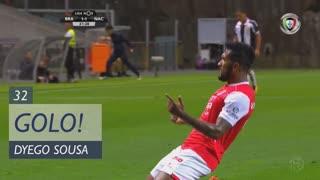 GOLO! SC Braga, Dyego Sousa aos 32', SC Braga 2-1 CD Nacional