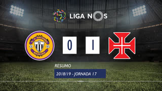 Liga NOS (17ªJ): Resumo CD Nacional 0-1 Os Belenenses