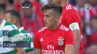 SL Benfica, Jogada, F. Cervi aos 21'