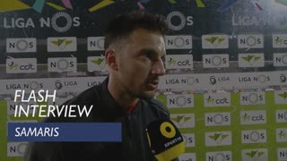 Liga (26ª): Flash Interview Samaris