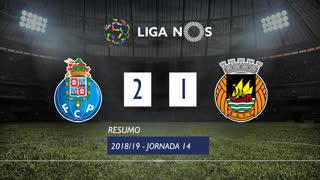 Liga NOS (14ªJ): Resumo FC Porto 2-1 Rio Ave FC