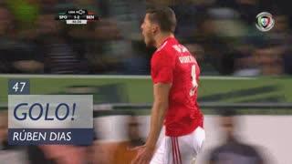 GOLO! SL Benfica, Rúben Dias aos 47', Sporting CP 1-3 SL Benfica