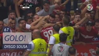 GOLO! SC Braga, Dyego Sousa aos 67', SC Braga 1-0 Sporting CP