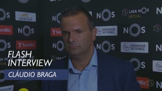 Liga (6ª): Flash interview Cláudio Braga