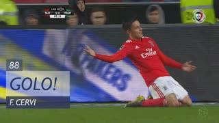 GOLO! SL Benfica, F. Cervi aos 88', SL Benfica 5-0 Marítimo M.