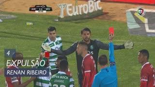Sporting CP, Expulsão, Renan Ribeiro aos 4'