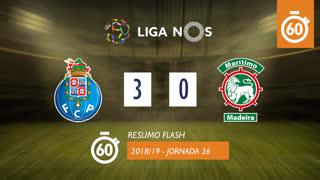 Liga NOS (26ªJ): Resumo Flash FC Porto 3-0 Marítimo M.