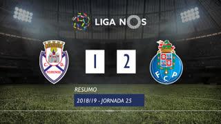 Liga NOS (25ªJ): Resumo CD Feirense 1-2 FC Porto