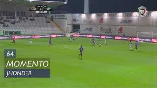 Vitória FC, Jogada, Jhonder aos 64'