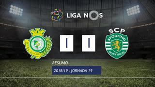 Liga NOS (19ªJ): Resumo Vitória FC 1-1 Sporting CP