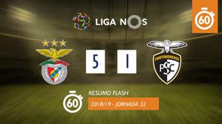 Liga NOS (32ªJ): Resumo Flash SL Benfica 5-1 Portimonense