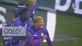 GOLO! Vitória FC, Berto aos 84', Rio Ave FC 1-1 Vitória FC