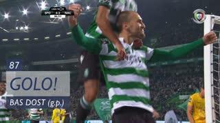 GOLO! Sporting CP, Bas Dost aos 87', Sporting CP 4-2 CD Nacional