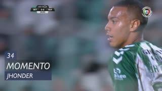 Vitória FC, Jogada, Jhonder aos 34'