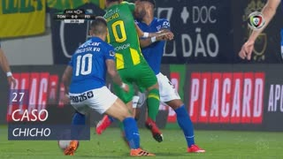 CD Tondela, Caso, Chicho aos 27'