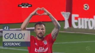 GOLO! SL Benfica, Seferovic aos 43', SL Benfica 3-0 GD Chaves
