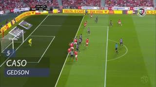 SL Benfica, Caso, Gedson aos 5'