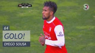 GOLO! SC Braga, Dyego Sousa aos 64', SC Braga 1-1 GD Chaves