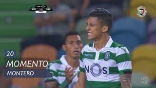 Sporting CP, Jogada, Montero aos 20'